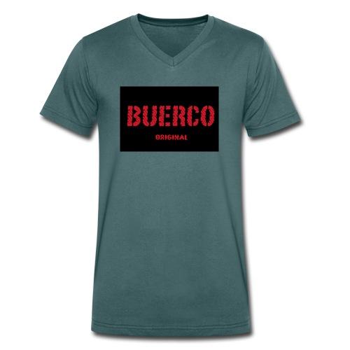 Buerco - Mannen bio T-shirt met V-hals van Stanley & Stella