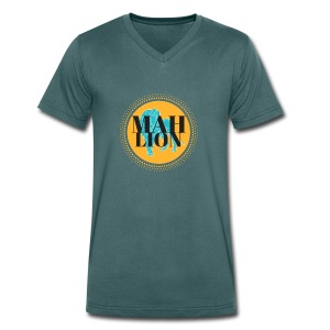 MAH LION - Men's Organic V-Neck T-Shirt by Stanley & Stella