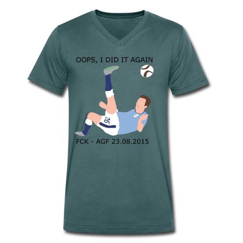 Oops, I Did It Again - Økologisk Stanley & Stella T-shirt med V-udskæring til herrer