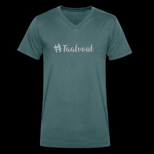 Taalvout - Mannen bio T-shirt met V-hals van Stanley & Stella