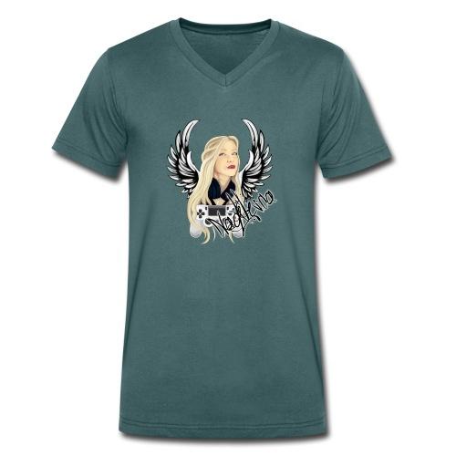 Nadilesca - Männer Bio-T-Shirt mit V-Ausschnitt von Stanley & Stella