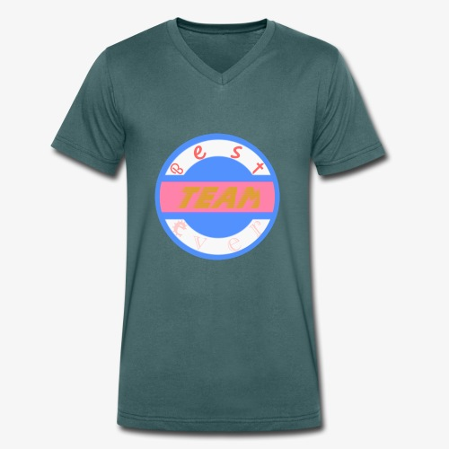 Mist K designs - Men's Organic V-Neck T-Shirt by Stanley & Stella