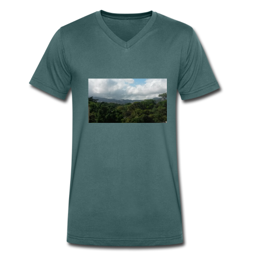 Desde el Avila - Camiseta ecológica hombre con cuello de pico de Stanley & Stella