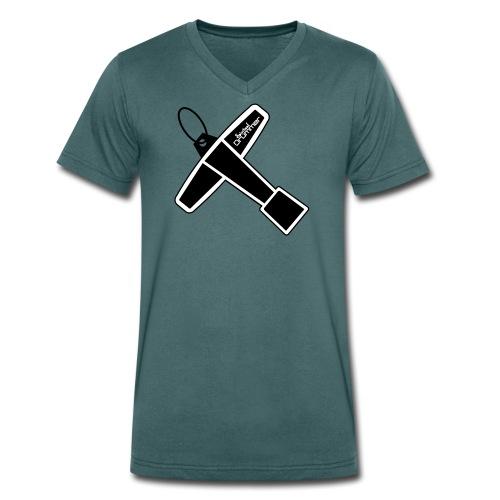 Drum Key Design - T-shirt bio col V Stanley & Stella Homme