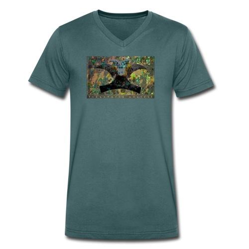 Blue Mojitos (jade) - Men's Organic V-Neck T-Shirt by Stanley & Stella