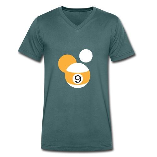 Niners Shop Signet - Männer Bio-T-Shirt mit V-Ausschnitt von Stanley & Stella