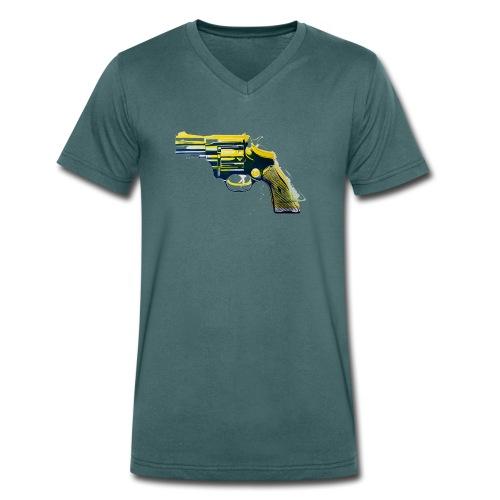 Revolver - Männer Bio-T-Shirt mit V-Ausschnitt von Stanley & Stella