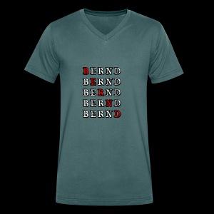Bernd - Männer Bio-T-Shirt mit V-Ausschnitt von Stanley & Stella