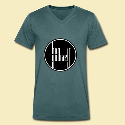 Hug yourself - Männer Bio-T-Shirt mit V-Ausschnitt von Stanley & Stella
