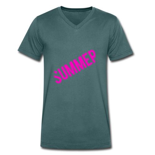 Summer - Männer Bio-T-Shirt mit V-Ausschnitt von Stanley & Stella