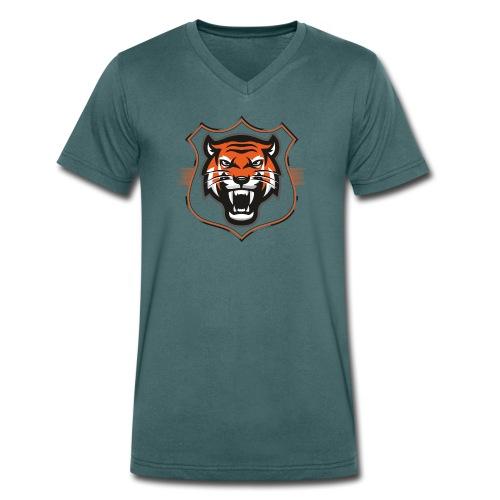 tigre2 - Camiseta ecológica hombre con cuello de pico de Stanley & Stella
