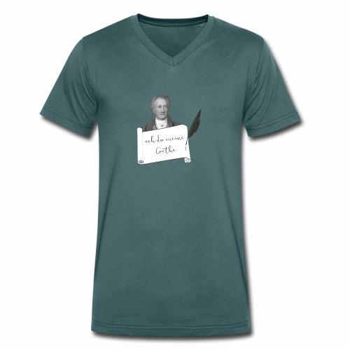 ach du meine Goethe - Männer Bio-T-Shirt mit V-Ausschnitt von Stanley & Stella