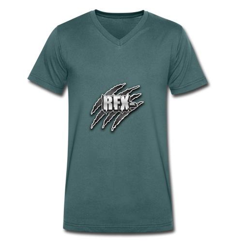 RFX - T-shirt ecologica da uomo con scollo a V di Stanley & Stella