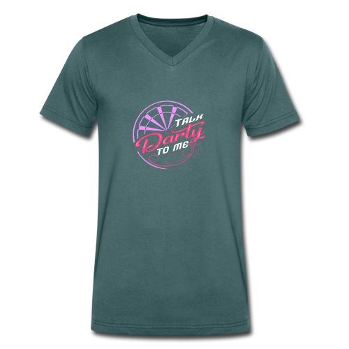 Talk Darty To Me Tee Design gift idea - Men's Organic V-Neck T-Shirt by Stanley & Stella