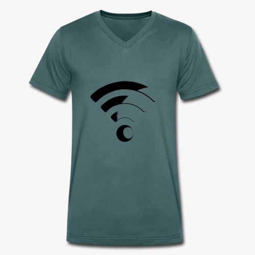 WLAN - Männer Bio-T-Shirt mit V-Ausschnitt von Stanley & Stella