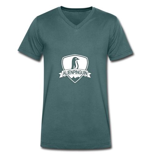 AlienPinguin Logo Vector - Männer Bio-T-Shirt mit V-Ausschnitt von Stanley & Stella