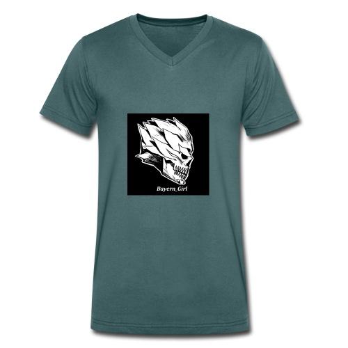 Bayern_Girl - Männer Bio-T-Shirt mit V-Ausschnitt von Stanley & Stella