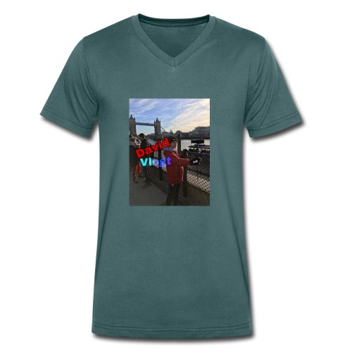 leuke kleding en leuke dingen die je kan gebruiken - Mannen bio T-shirt met V-hals van Stanley & Stella