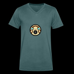 Borderlands Psycho Face Cute - Men's Organic V-Neck T-Shirt by Stanley & Stella