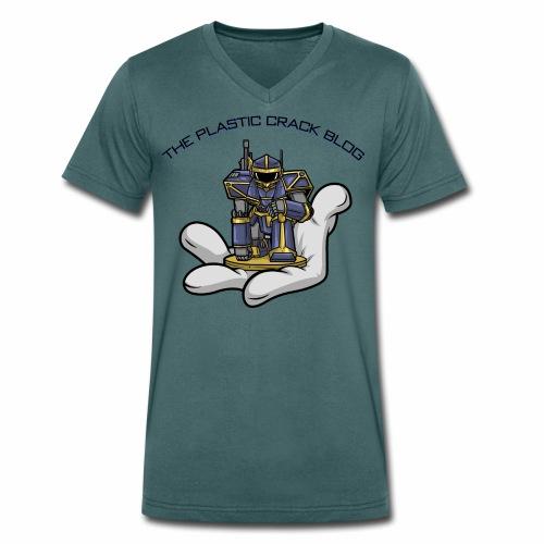 Plastic Crack Blog - Men's Organic V-Neck T-Shirt by Stanley & Stella