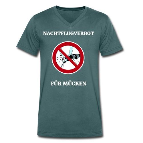 nachtflugverbot - Männer Bio-T-Shirt mit V-Ausschnitt von Stanley & Stella