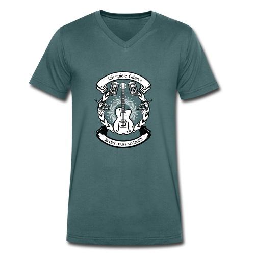 Rhtym Of Dark Ocean CS2 - Männer Bio-T-Shirt mit V-Ausschnitt von Stanley & Stella