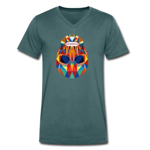 LA CALAVERA - Männer Bio-T-Shirt mit V-Ausschnitt von Stanley & Stella