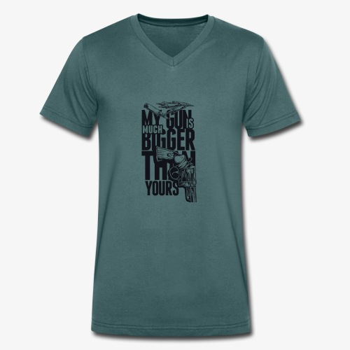 Gewehr - Männer Bio-T-Shirt mit V-Ausschnitt von Stanley & Stella