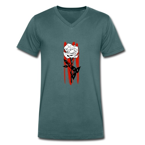 rose rune - T-shirt bio col V Stanley & Stella Homme