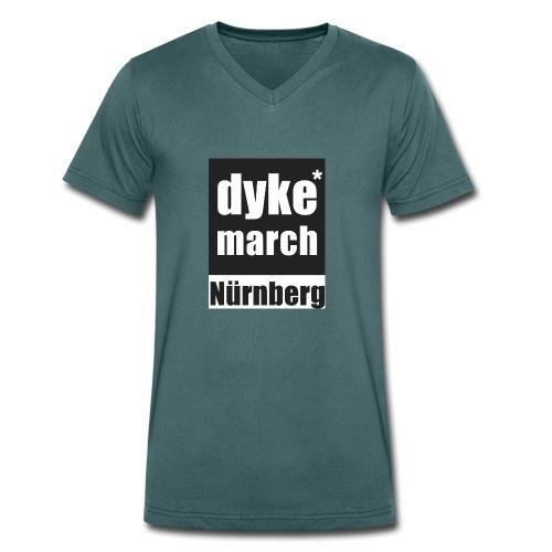 dyke*march Nürnberg - Männer Bio-T-Shirt mit V-Ausschnitt von Stanley & Stella