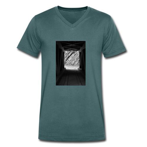 4.1.17 - Männer Bio-T-Shirt mit V-Ausschnitt von Stanley & Stella