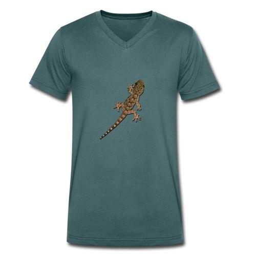 Gecko - Männer Bio-T-Shirt mit V-Ausschnitt von Stanley & Stella