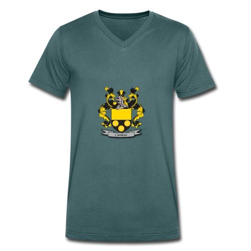 Cardew Family Crest - Men's Organic V-Neck T-Shirt by Stanley & Stella