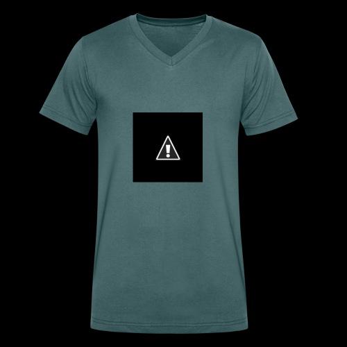 !warning! - Männer Bio-T-Shirt mit V-Ausschnitt von Stanley & Stella