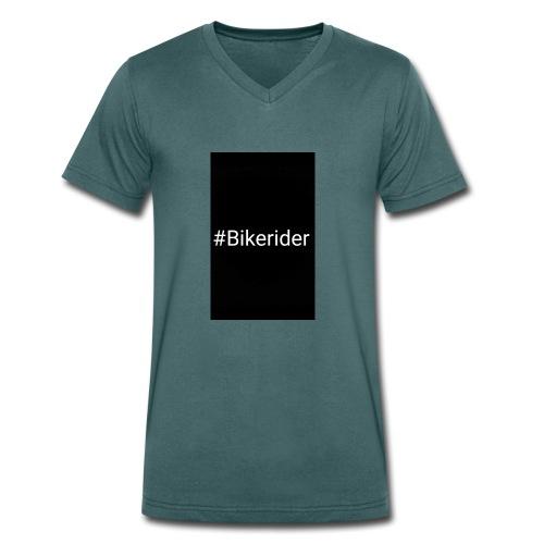 #Bikerider Hoodie - Männer Bio-T-Shirt mit V-Ausschnitt von Stanley & Stella