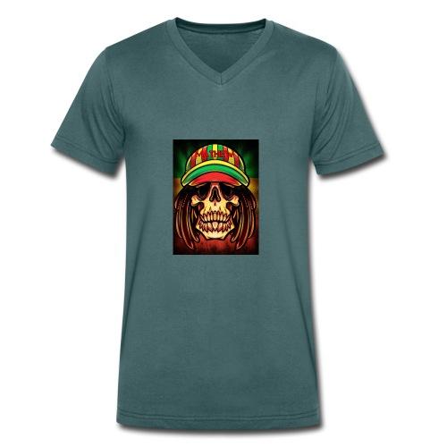mathew merch - Men's Organic V-Neck T-Shirt by Stanley & Stella