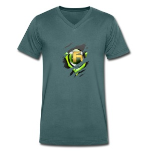 tobietube merch - Men's Organic V-Neck T-Shirt by Stanley & Stella
