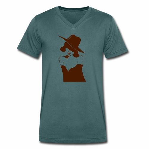 Mrs. Standart - Männer Bio-T-Shirt mit V-Ausschnitt von Stanley & Stella