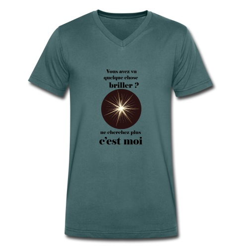 Lorgnette brillant ...amoureux ou inspiré FC - T-shirt bio col V Stanley & Stella Homme