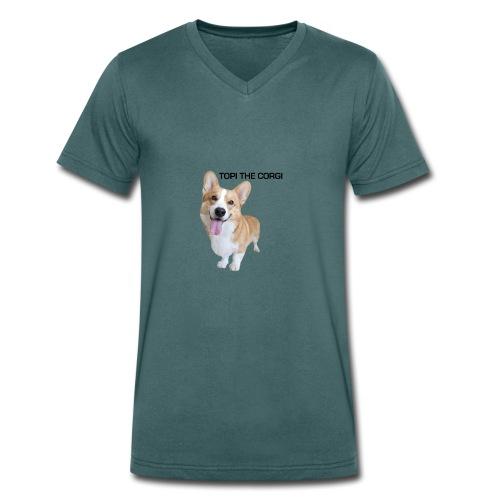 Silly Topi - Men's Organic V-Neck T-Shirt by Stanley & Stella