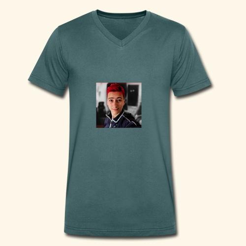 Lekker ding - Mannen bio T-shirt met V-hals van Stanley & Stella