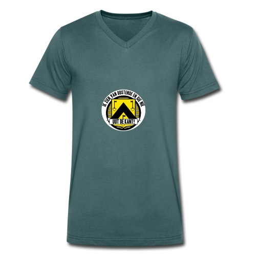 Ik zien van Oostende - T-shirt bio col V Stanley & Stella Homme