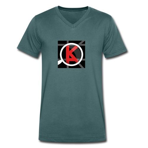 KiezApp Fan - Männer Bio-T-Shirt mit V-Ausschnitt von Stanley & Stella