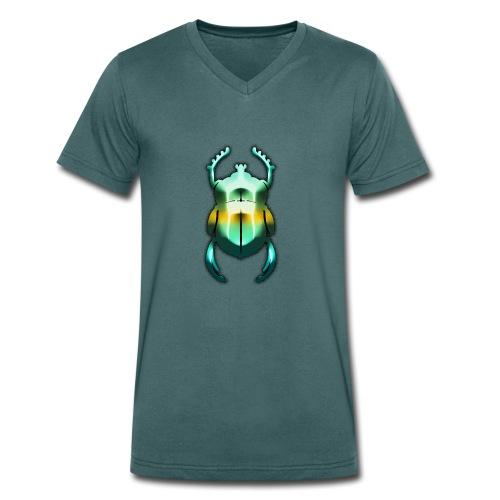 Skarabäus - Männer Bio-T-Shirt mit V-Ausschnitt von Stanley & Stella
