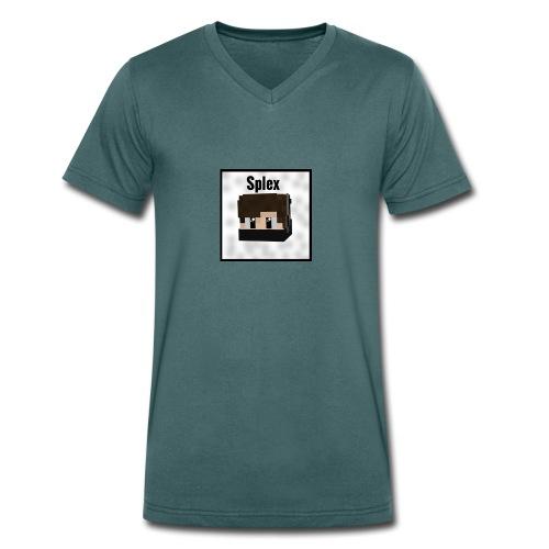 SplexMerch - Merch FürsYouTube Kanal SplexArtZz - Männer Bio-T-Shirt mit V-Ausschnitt von Stanley & Stella