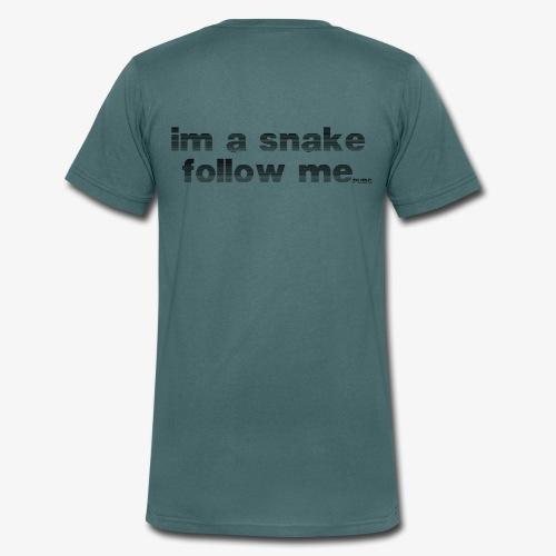 snake #1 - Männer Bio-T-Shirt mit V-Ausschnitt von Stanley & Stella