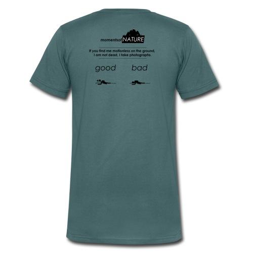 Nature Photographers in the wild - Männer Bio-T-Shirt mit V-Ausschnitt von Stanley & Stella