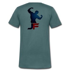 Herre - Økologisk Stanley & Stella T-shirt med V-udskæring til herrer