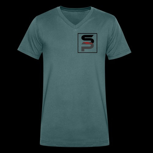 Synergy Products Logo - Men's Organic V-Neck T-Shirt by Stanley & Stella