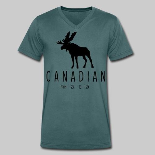 Canadian - T-shirt bio col V Stanley & Stella Homme